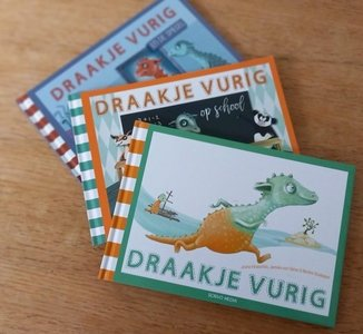 Draakje Vurig set 3 dln.